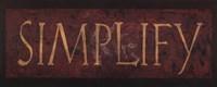 """Simplify by Stephanie Marrott - 20"""" x 8"""""""