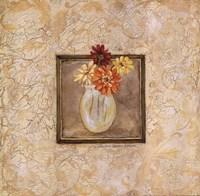 "Gerbers in Vase by Stephanie Marrott - 12"" x 12"", FulcrumGallery.com brand"