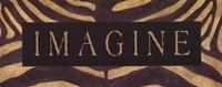 """Imagine Animal Print by Stephanie Marrott - 20"""" x 8"""""""