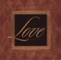Love Deeply Framed Print