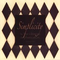 """Simplicity by Stephanie Marrott - 12"""" x 12"""""""