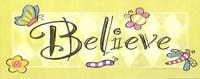 "Believe with Butterflies by Stephanie Marrott - 20"" x 8"""