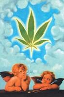 """Grown in Heaven by Angela Ferrante - 24"""" x 36"""", FulcrumGallery.com brand"""