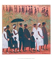 Funeral Procession Fine Art Print
