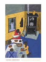 This is a Family Living in Harlem Fine Art Print