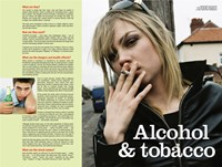 "Alcohol & Tobacco by Angela Ferrante - 24"" x 18"""