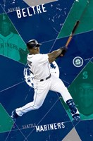 Adrian Beltre Wall Poster