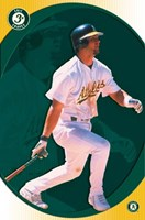 Eric Chavez Wall Poster