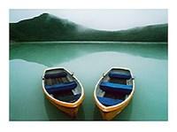 Boats, Honshu, Japan Fine Art Print