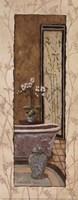 "Oriental Bath II by Charlene Winter Olson - 4"" x 10"""