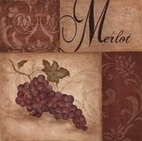 Merlot Grapes Fine Art Print