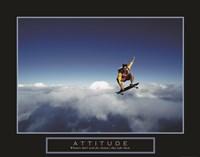 Attitude - Skateboarder Fine Art Print