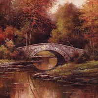 "Stone Bridge by T.C. Chiu - 24"" x 24"""