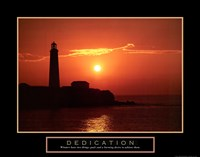 Dedication - Lighthouse Fine Art Print