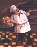 Halloween Chef I Fine Art Print