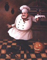 Halloween Chef II Fine Art Print
