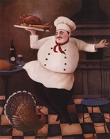 Turkey Chef II Fine Art Print