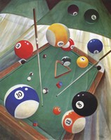 Billiards II Fine Art Print