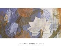 Saffron & Sky I Fine Art Print