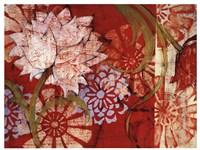 Crimson Malay I Framed Print