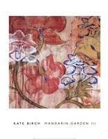 Mandarin Garden III Fine Art Print
