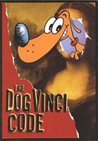 Birthday The Dog Vinci Code Greeting Card
