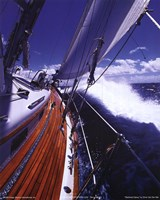 Starboard Spray Fine Art Print