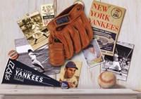 "Vintage Yankees by Bob Downs - 7"" x 5"" - $9.99"