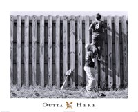 "Outta Here by Angela Ferrante - 20"" x 16"", FulcrumGallery.com brand"