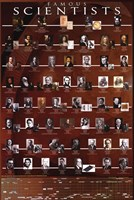Famous Scientists Wall Poster