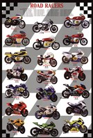 "Road Racers by Angela Ferrante - 24"" x 36"""