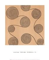 Scroll II (Right) Fine Art Print