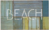 "Beach Sign by Z studio - 16"" x 10"""
