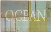 Ocean Sign Fine Art Print
