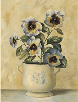 Pansies 3 Fine Art Print