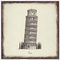 Pisa Tile Fine Art Print