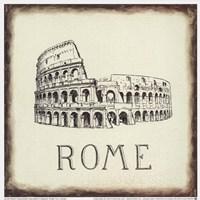 Rome Tile Fine Art Print