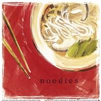 """Soba Noodles by Lauren Hamilton - 7"""" x 7"""""""