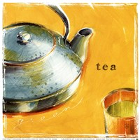 Green Leaf Tea Fine Art Print