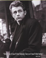 James Dean (Live As If) Wall Poster