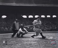 Lou Gehrig - batting Fine Art Print