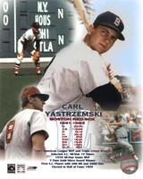 Carl Yastremski - Legends of the Game Composite Fine Art Print