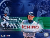 Ichiro Suzuki - Composite (Horizontal) Fine Art Print