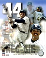 Reggie Jackson Legends Composite Framed Print