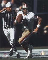 Joe Montana - #7 Scramble Fine Art Print