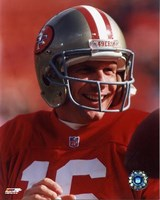 Joe Montana - #19 Close up Fine Art Print