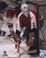Bernie Parent - In net Fine Art Print