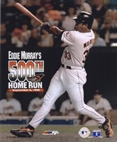 Eddie Murray - 500th Home Run Fine Art Print