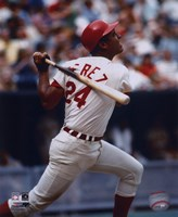 Tony Perez - Batting Fine Art Print