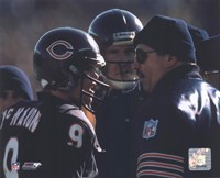 Jim McMahon / Mike Ditka Fine Art Print